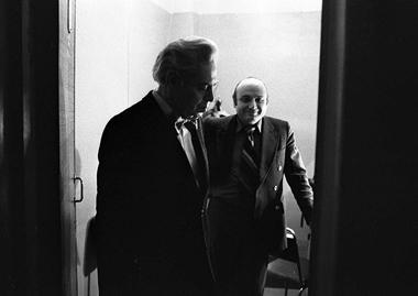 А.Райкин иМ.Жванецкий. 1980г.