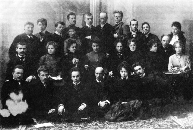 Драматическая труппа А.С.Кошеверова иВ.Э.Мейерхольда. Херсон. 1902/03г.