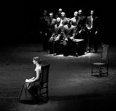 «Цимбелин». Театр «Cheek By Jowl» (Великобритания). Фото В. Луповского