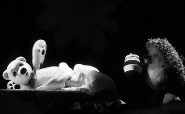 «Сказка про Ежика и Медвежонка». Новоуренгойский театр. Фото В. Бойко