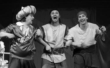 «О, Синдбад!». Театр «Свободное пространство» (Орел). Фото В. Бойко