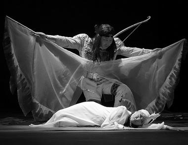 «Волшебные ягодки». Нюрбинский передвижной драматический театр. Фото В. Архипова