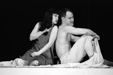 «Любовники из Вернона». Сцена из спектакля. Фото А. Якимчука