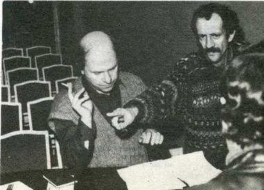 С. Лосев и В. Жук. Фото из архива В. Жука