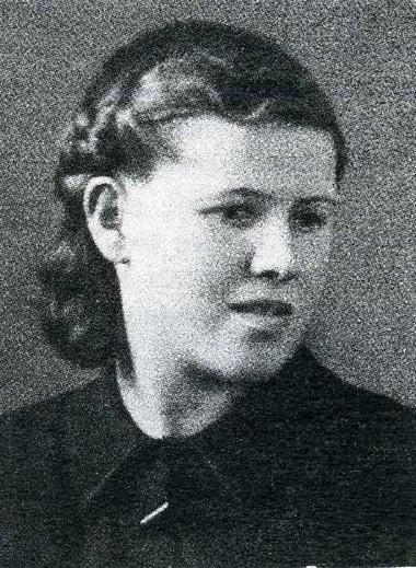Лидия Григорьева. 1940-е годы. Фото из личного архива