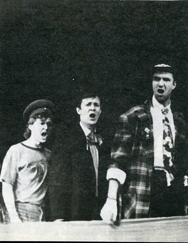 «Гуд-бай, Америка!!!». Сцена из спектакля. Фото из архива МТЮЗа