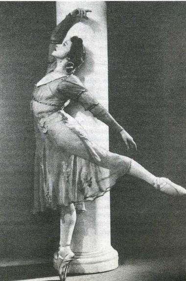 Г.Уланова (Джульетта). Фото из фондов Музея театрального и музыкального искусства