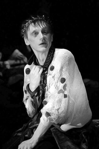 О. Ягодин (Гамлет). «Гамлет». «Коляда-Театр». Фото из архива театра