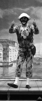 Ф. Солери (Арлекин). «Арлекин — слуга двух господ». Фото из архива фестиваля