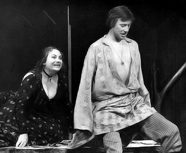 М. Мальцева (Матрена), С. Дрейден (Наркис). Фото из архива театра Комедии