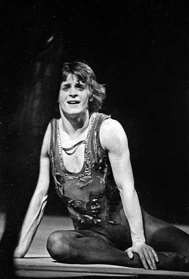 М. Барышников в балете «Блудный сын». Фото из архива театра
