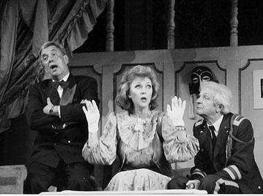 «Французские штучки». Сцена из спектакля. Театр им. Комиссаржевской. Фото из личного архива актрисы