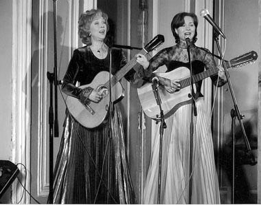 Концерт В. и Н. Паниных. Фото из личного архива актрисы