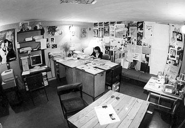 Первая редакция «ПТЖ». Пл. Искусств, 5. 1997 г. Фото Ю. Белинского