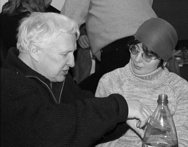 Э. Кочергин и Н. Скороход. 2002 г. Фото из архива редакции