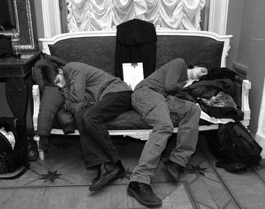 Дети примчались после двух зачетов... Фото Ю. Кудряшовой