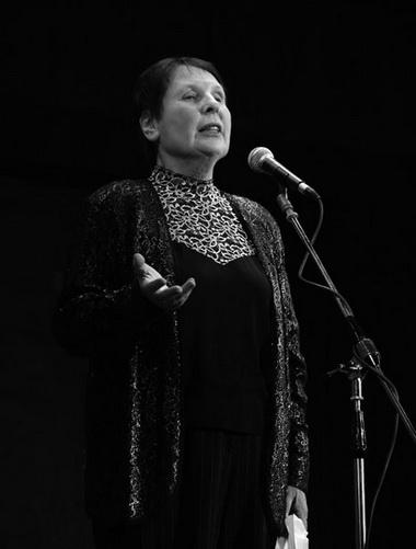 Выступление О. Наумовой (Нижний Новгород) было настоящим капустником. Фото Ю. Кудряшовой