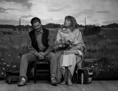 «Латышская любовь». Сцена из спектакля. Фото Г. Малдериса