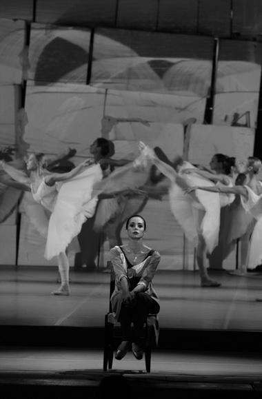 Д. Вишнева. «Silenzio». Мариинский театр. Фото Н. Разиной