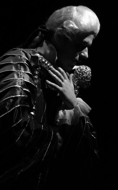 Д. Бобров (Орфей). Фото Ю. Чернова