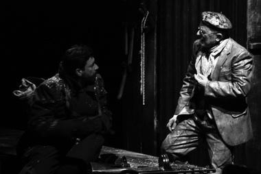 А. Галлигани (Лейтенант Бьянко), Л. Спадаро (Джузеппе). Фото из архива фестиваля