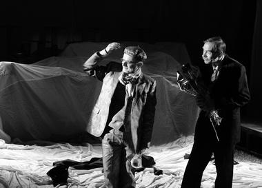 Л. Спадаро (Джузеппе), В. Яковлев (Петр). Фото из архива фестиваля