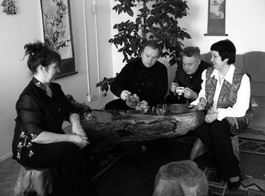 Н. Наумова, И. Креймер, В. Зайчиков, М. Зайчикова. Фото М. Дмитревской