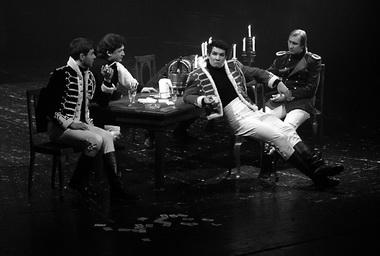 «Правила игры». Сцена из спектакля. Фото К. Суслова