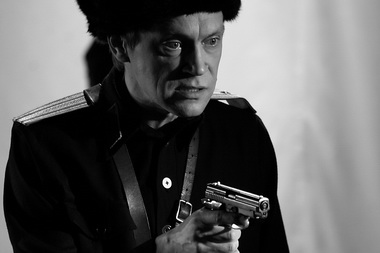 Г. Раудсепп (Бессмертный Коммунист Николай). «Смерть коммуниста». Фото из архива театра
