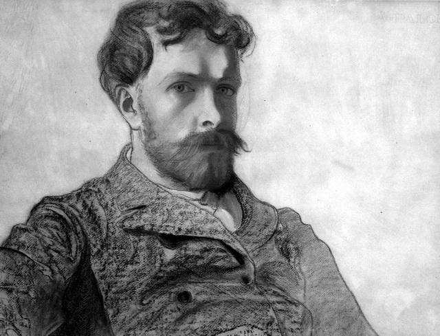 С. Выспянский. Автопортрет. 1903