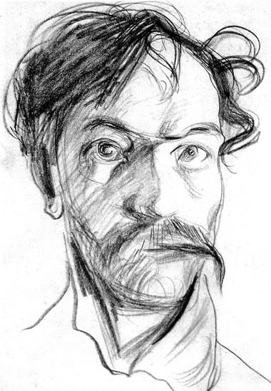 С. Выспянский. Последний автопортрет. 1907