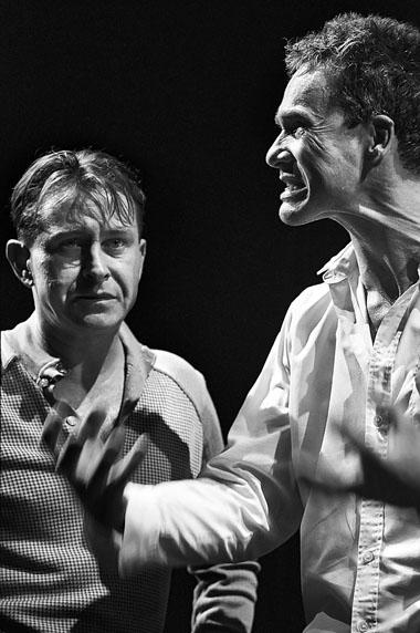 С. Леманн (Мефистофель), И. Хюльсманн (Фауст). Фото из архива фестиваля