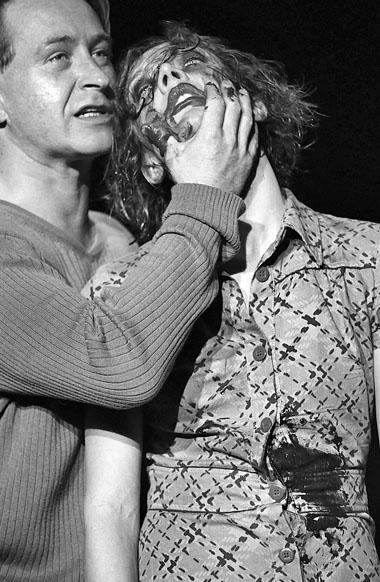 С. Леманн (Мефистофель), Р. Циммерман (Маргарита). Фото из архива фестиваля