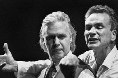П. Пагель (Вагнер), И. Хюльсманн (Фауст). Фото из архива фестиваля