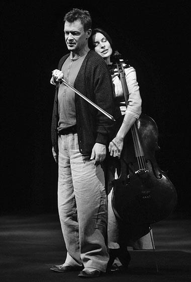 Я. Фрыч (Иванов), Д. Стэнка (Сарра). Фото из архива фестиваля