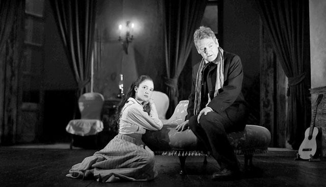 А. Райзборо (Шурочка), К. Брана (Иванов). Фото из архива театра