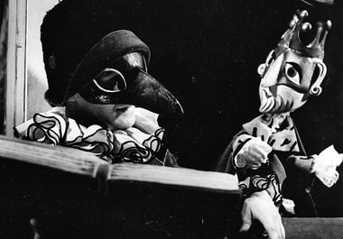 В. Морозов (Труффальдино). «Любовь к одному апельсину». 1978. Фото из архива Театра сказки