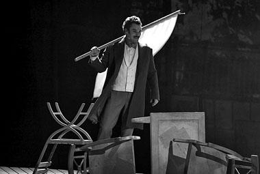 С. Морозов (Михаил Бакунин). Фото из архива театра