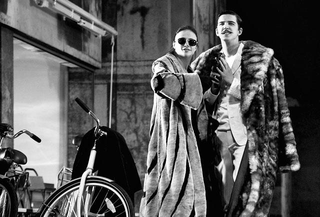 М. Миронова (Клара Цаханассьян), К. Петров (Муж Клары). Фото из архива театра