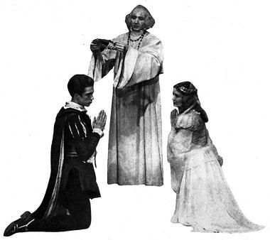 Ромео — В. Сошальский, Лоренцо — Н. Карамышев, Джульетта — Н. Мамаева