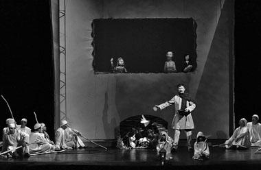 Сцена из спектакля «Христос». Фото Ю. Чернова
