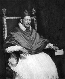 Д. Веласкес. Портрет папы Иннокентия X