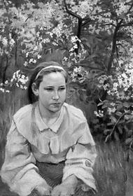 В. Борисов-Мусатов. Портрет Елены Эльпидифоровны Борисовой-Мусатовой, сестры художника