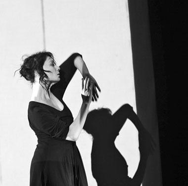 Ч. Хаматова (Лиза). Фото М. Гутермана