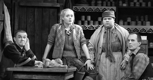 Сцена из спектакля. Фото А. Зернина