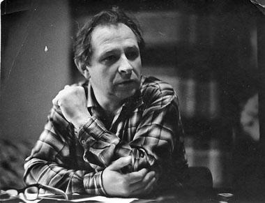 Е. Лебедев. 1950-е гг. Фото из архива редакции