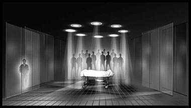 Эскиз кспектаклю «Курс лечения»