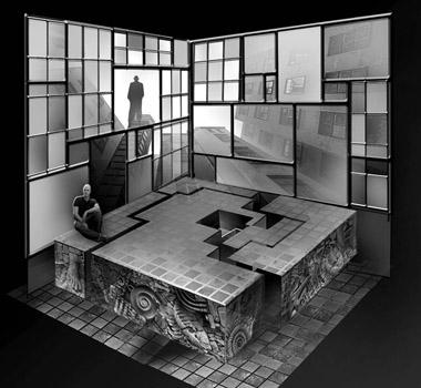 Эскиз кспектаклю «Саранча»