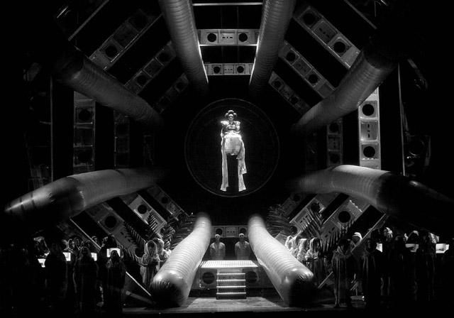 Сцена изспектакля. Часть II«Троянцы вКарфагене».  Фото Н. Разиной