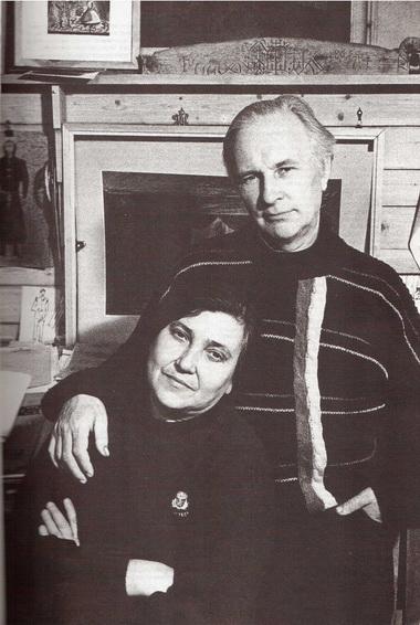 Инна Габай и Эдуард Кочергин. Фото В. Дюжаева